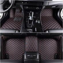 Tapetes para carro com 5 assentos personalizados, tapetes para carro fiat freemont bravo 500 500x viagem ótima todos os modelos acessórios para automóveis rhd lhd