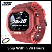 LOKMAT OCEAN Swimming Smart Watch Men Fitness Tracker Blood Pressure Message Smartwatch Heart Rate Monitor Clock For Android New