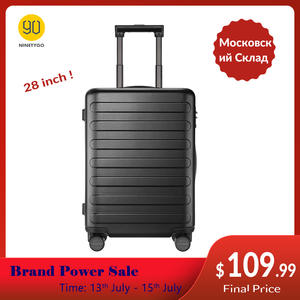 Tsa-Lock Wheels-Luggage Pc Suitcase Ninetygo 90fun School Spinner Carry Business 28inch