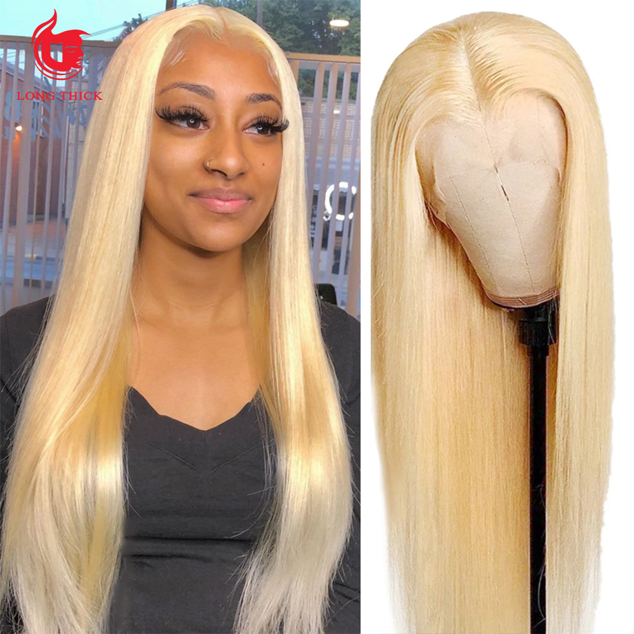 Bone Straight  Wig 613 Straight bob 30 Inch Honey Blonde Lace Front Wigs   Hd Lace Frontal Wig 1