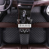 Applicable Honda FIT Mat Fully Surrounded Wire Ring Car Carpet Foot Mats 2017/17/2016/16 15 Years