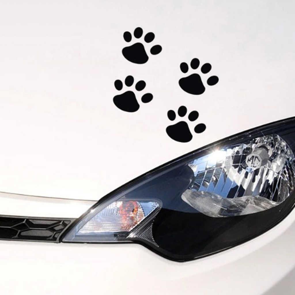 EHAO 10Pcs 3D gato Paw perro de la garra auto coche cami/ón port/átil iPad ventana de la pared de la motocicleta decoraci/ón Decal Sticker