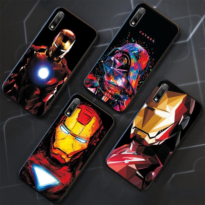 Marvel Iron Man Phone Bags For VIVO IQOO NEO Case Cover Black TPU For Vivo V17 NEO Case Vivo Y81 Y81S Y83 Y91i Y93 Y95 Y85 Z5 91