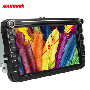 Image 5 - MARUBOX Car Multimedia player Android 10 GPS 2 Din Car Radio Audio Auto For VW/Volkswagen/POLO/PASSAT/Golf 8 Cores 4G 64G KD8101