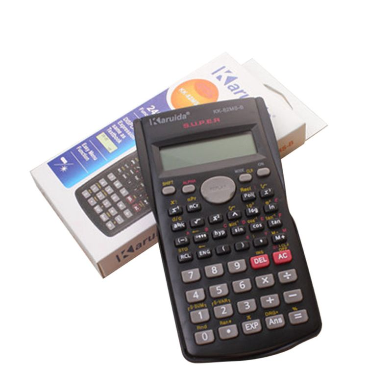 Multi-functional School Engineering Scientific Calculator Students Stationary Examination Calculating Tool Supplies