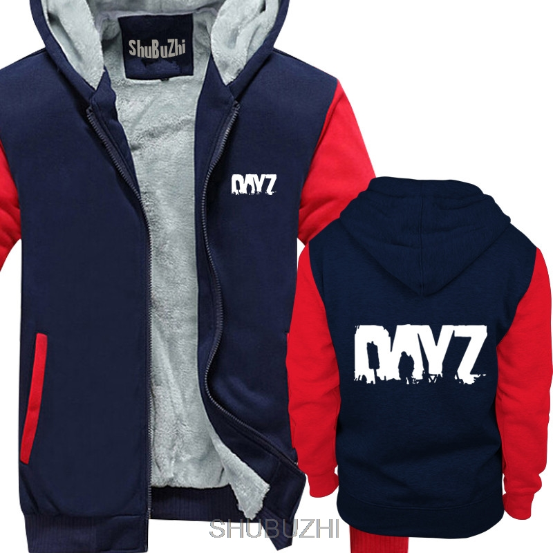 Image 3 - men long sleeve thick hoodies Fabulous thick hoodies Men GAME  DAYZ Printed long sleeved Birthday Gifts euro size sbz4028Hoodies