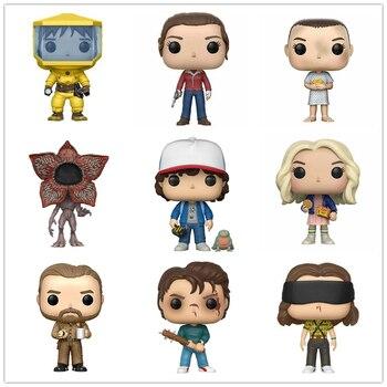 Stranger Things Character Eleven Steve Hopper Dustin&Dart Nancy Joyce Demogorgon Action Figures Model Toys for Christmas Gifts