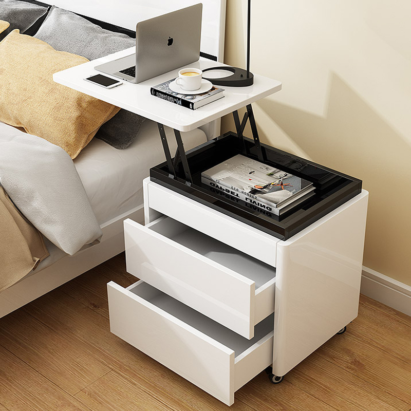 Smart Life Lifting Folding Board Nightstand Desktop Computer Iron Coffee Sofa Dining End Bedside Table Bedstand Cabinet Cupboard