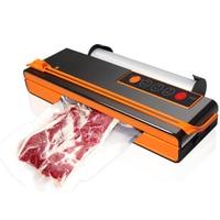 Vacuum Packing Machine Mini Automatic Food Vacuum Sealer Own Cutting Knife Bag Slot Vacuum Packer UK Plug