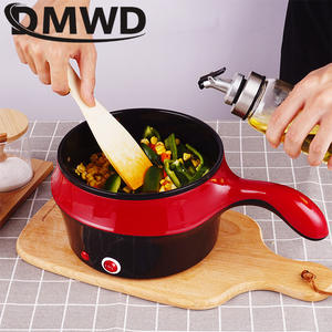 DMWD Heater-Pot Egg-Steamer Frying-Pan Electric-Cooker Food-Noodle Hotpot Soup Non-Stick