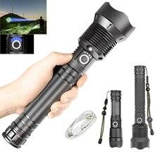 LED Outdoor Waterproof Flashlight Retractable Zoom Flashlight Rechargeable Tactical Flashlight 18650 Usb Camping Lamp Flashlight