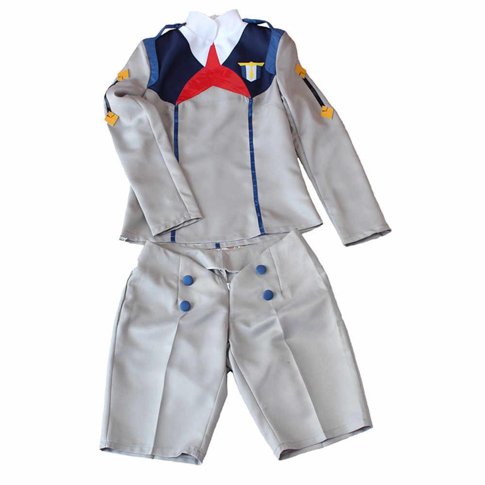 Darling In De Franxx Cos Hiro Ichigo Nul Twee Miku Kokoro School Uniform Cosplay Kostuum Sets Halloween Pak Outfit Jurk suits