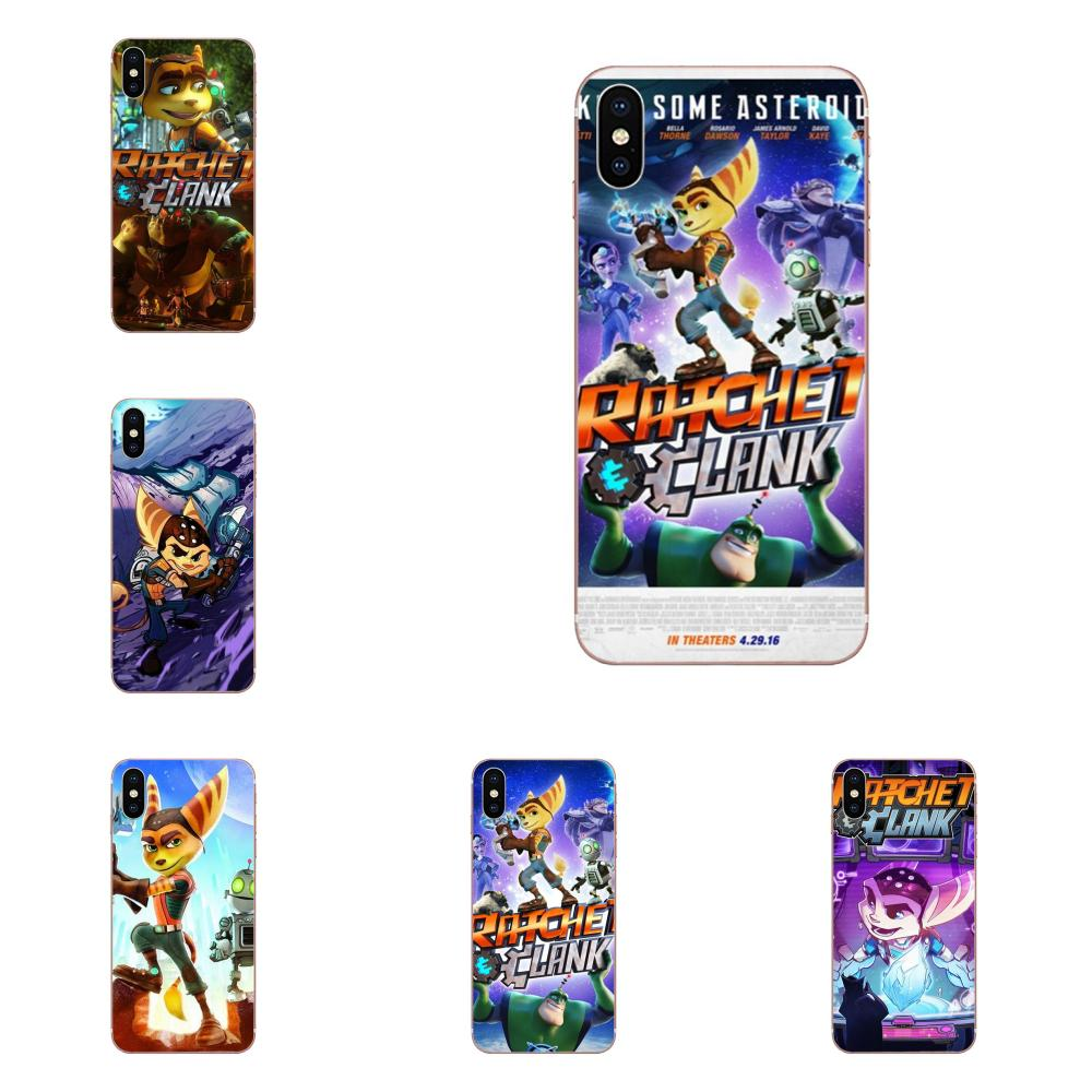 Silicone Skin Case Game Ratchet And Clank For Samsung Galaxy A51 A71 A81 A90 5G A91 A01 S11 S11E S20 Plus Ultra image