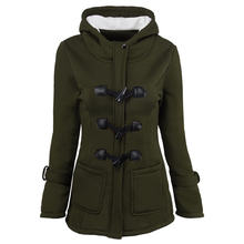 Женская Классическая куртка из воловьей кожи на пуговицах с