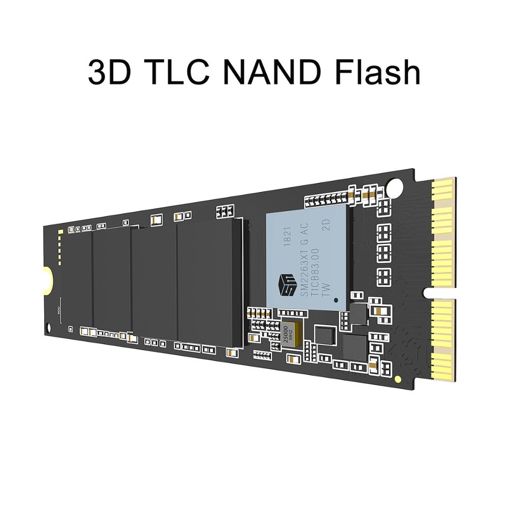 INDMEM 256 go 512 go 1 to M.2 SSD PCIe pour Mac SSD M2 NVMe SSD disque dur Gen3x4 3D NAND Flash SSD 1 to pour MacBook Air/Macbook Pro