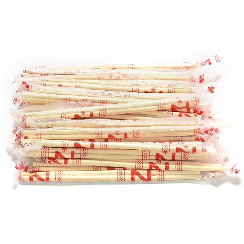 Китайские одноразовые бамбуковые деревянные палочки для еды, 40 пар Длина 18 см