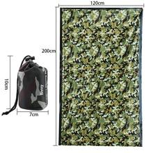 Outdoor Life Emergency Sleeping Bag Thermal Keep Warm Waterproof First Aid Blanke Camping Survival Gear