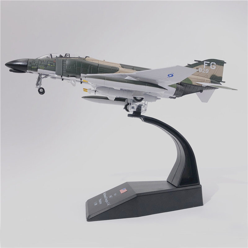 Jason TUTU Aircraft Plane model 1/100 Scale Military USA McDonnell Douglas F-4C Phantom II airplane Alloy model diecast 1:100 image