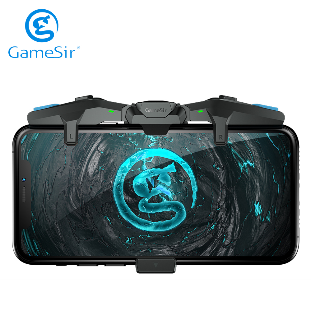 GameSir F4 Falcon Mobile Game Controller PUBG Gamepad Joystick Trigger for iPhone iOS Android Call of Duty