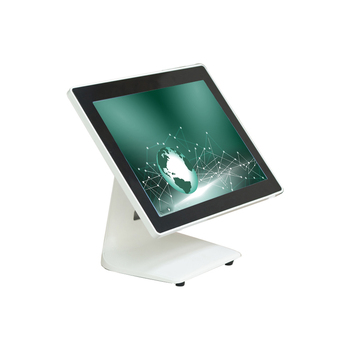 15'' capacitive touch screen High quality POS system for supermarket white POS machine and terminal cash register