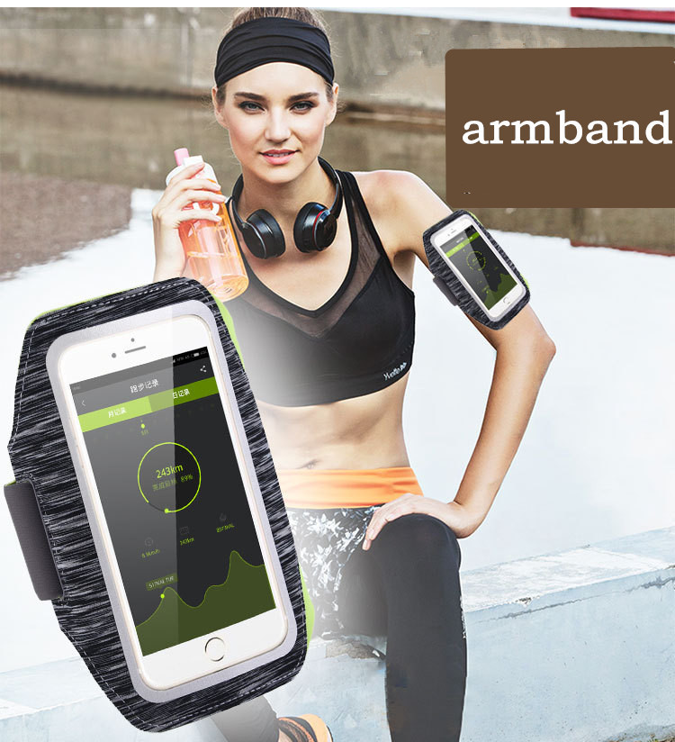 Sports Running Armband Bag Case Cover Universal Slim Waterproof Sport Mobile Phone Holder Outdoor bag for iphone