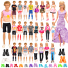 1/6 Doll Clothes 34 Item=10 Ken Clothes 4 Ken Shoes Doll Accessories 10 Shoes 10 Clothes For Barbie Kids Toys for Girl DIY Gift