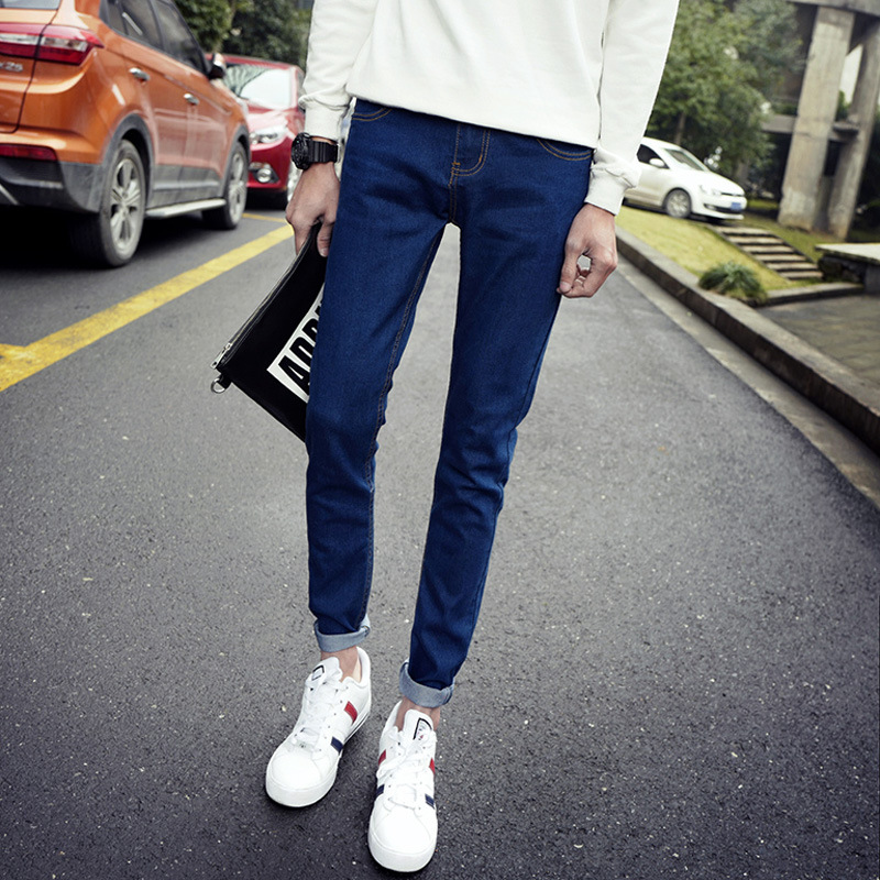 Hot Selling Special Offer MEN'S Trousers Slim Fit Pencil Pants BOY'S Jeans Men's Skinny Pants Casual Pants