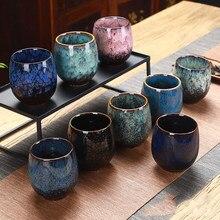 Ceramiczny 150ML herbata chińska filiżanka kreatywny kubek ceramiczny kubek podróżny zmień piec ceramiczny domowy kubek herbaty szklanka filiżanki do kawy