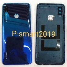"Originele 6.21 ""Voor Huawei P Smart 2019 P Smart (2019) back Battery Cover Case Behuizing + Vingerafdruk Frame + Glas Lens"