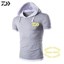 Толстовки Daiwa Рыбацкая куртка мужская Хлопковая весенняя дышащая Лоскутная однотонная одежда для рыбалки походная быстросохнущая одежда