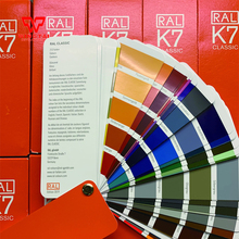 YENew Version German Color Guide RAL K7 rough guide german