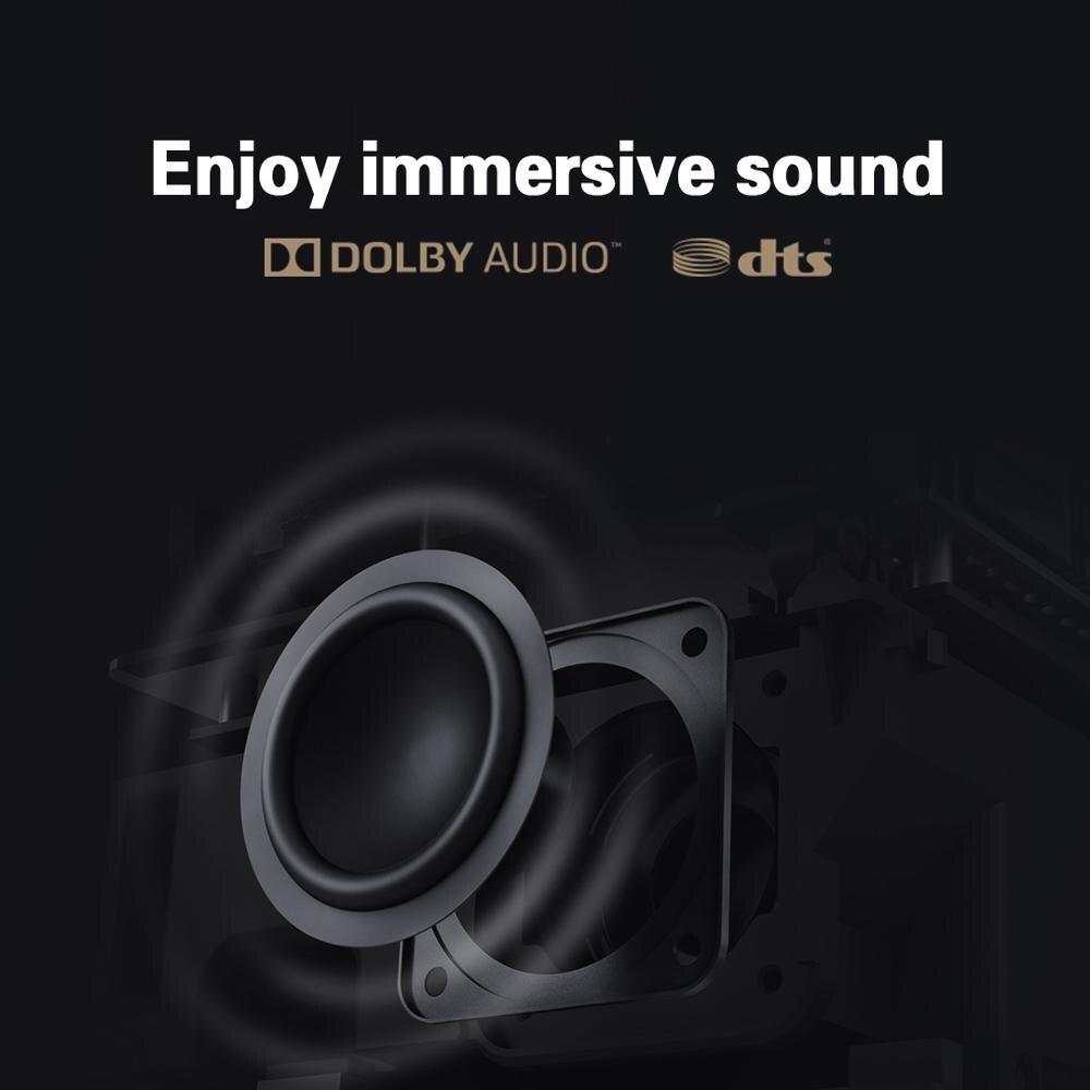 Versão global xiaomi juventude edição projetor 1080p hdr10 android tv 9.0 auto-foco dolby áudio google assistente de cinema em casa-3