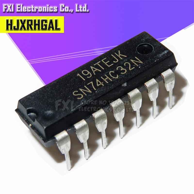 10PCS SN74HC32N SN74HC32 DIP14 DIP 74HC32N 74HC32 New Original