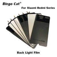 Película de retroiluminación para Xiaomi Mi A1, A2, redmi 6pro, 7, note 5, 4x, 6pro, 7, 10 unidades