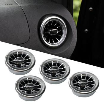 CITALL 4pcs Turbo Style Air AC Vent Outlet Trim Cover Fit For Mercedes Benz V Class Vito Viano Metris W447 2015 2016-2019