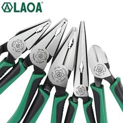 1 قطعة LAOA CR-MO زَرَديّة مركبة كماشة طويلة كماشة الصيد سلك القاطع تجريد الأمريكية نوع أدوات ل كهربائي