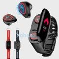 Смарт-часы AI Talk band с Bluetooth наушниками монитор сердечного ритма умный Браслет длительное время ожидания TalkBand PK huawei для мужчин b3 b5 xiaomi созидате...