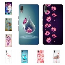 For Sony Xperia L3 Case Ultra-thin Soft TPU Silicone Cover Cute Cartoon Patterned Funda