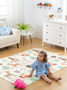 Play-Mat Crawling-Pad Puzzle Baby-Carpet Tapete Children's-Mat Infant Shining Thickened