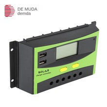 Factory Wholesale Controller 30A 12v24v Photovoltaic LED Streetlight Intelligent Lighting Solar Controller Spot