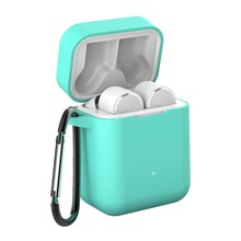 Soft Silicone Case Cover For Xiaomi Mi AirDots True Wireless Bluetooth Earphone Shockproof Bag for Xiaomi Mi Air Charging Box(China)
