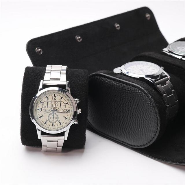 3-slot Watch Travel Roll/Case 3