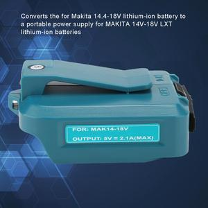 Image 4 - Converter Head for Makita USB Converter Head for ADP05 14.4/18V Lithium Battery USB Intelligent Recognition