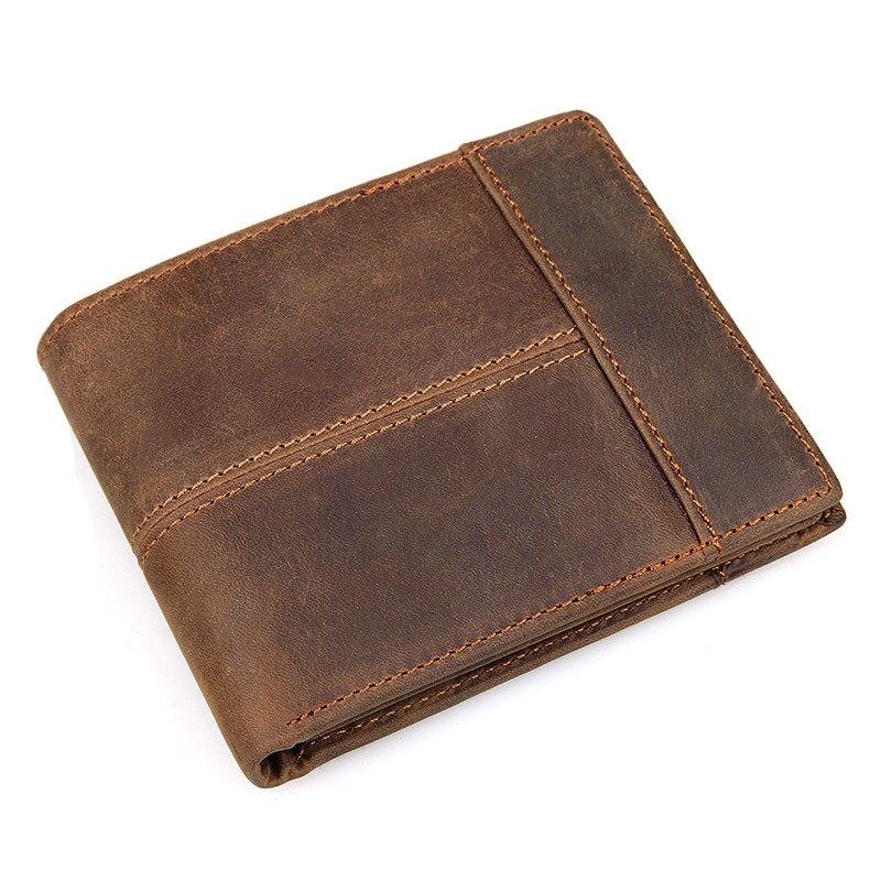 Leather Short Men's Wallet…