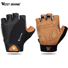Cycling Gloves Half Finger Men Women Gloves Breathable Anti-shock Outdoor Sport MTB Road Bike Bicycle Motorcycle Gloves Summer rockbros cycling bike bicycle gloves half finger gel anti shock breathable elastic bicycle gloves mtb motorcycle sports gloves