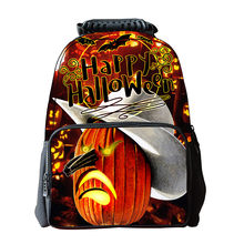 HOT 1PCS 3D Stampa di Halloween nero cartoon spilla Icone zaino Acrilico Distintivi e Simboli Del Fumetto Spille Distintivi e Simboli Borse Dropship Spille g Hot 916 #(China)