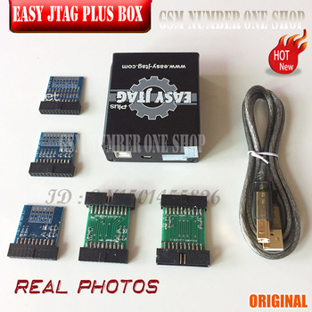2019 original new Z3x - easy Jtag plus box with Easyjtag UFS 95 Sockets Adapter with Easy jtag UFS 153 Sockets Adapter 1