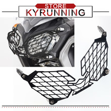 Motorcycle modification Headlight Guard Protector Protector Grille Cover For XT1200Z XT 1200 Z Super Tenere 2010-2018(China)