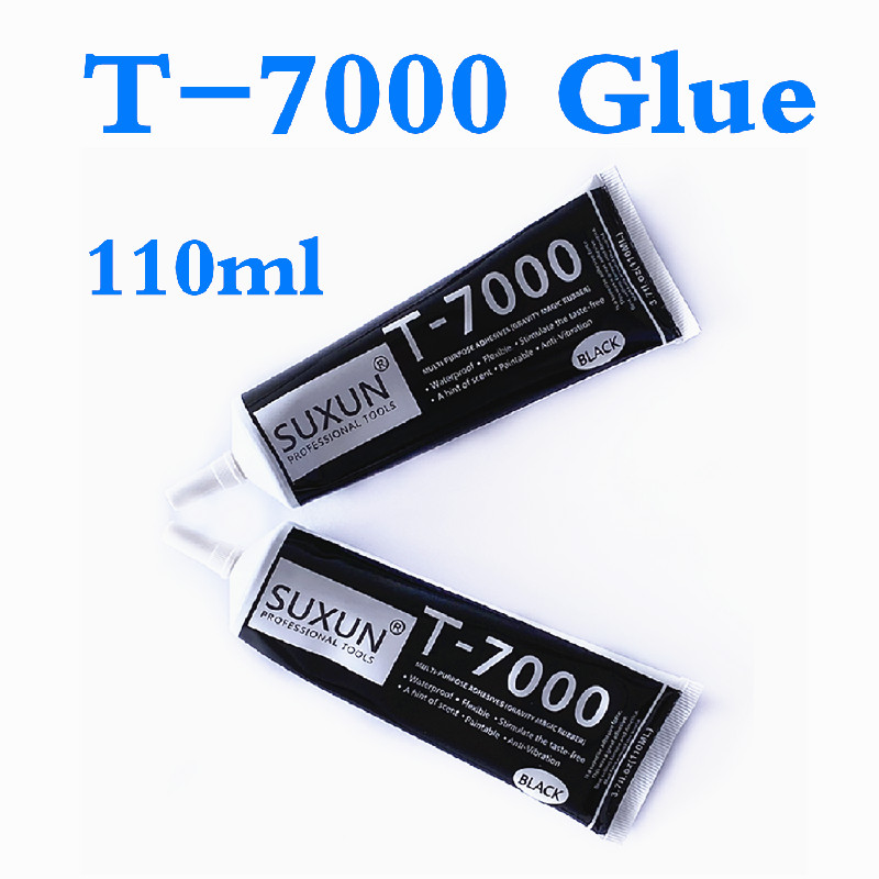 <font><b>110ML</b></font> <font><b>T7000</b></font> Multiple Purpose Repair <font><b>T7000</b></font> Glue T-7000 Glue Heat Resistant Glue Cell Phone LCD Touch Screen Super Glue T 7000 image