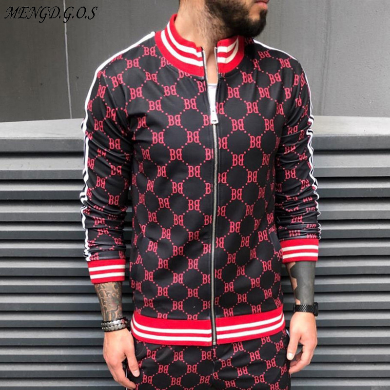 2019 new winter jacket men streetwear casual men's jacket stand collar fashion brand men's shirt fashion men's clothing